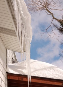 ice roof leak
