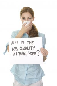 Indoor air quality pollution
