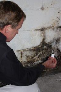 tape lift sample mold