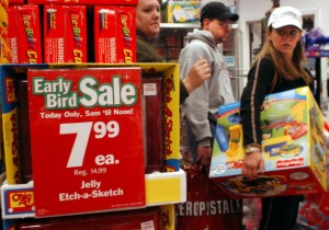 The Start of the Christmas Shopping Season in Pennsylvania