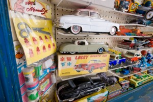 toy cars in toy store