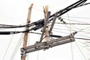 power outage damage