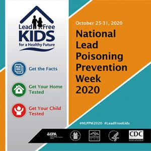 lead poisoning prevention week 2020