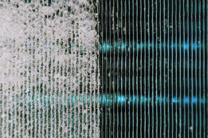 clean HVAC system